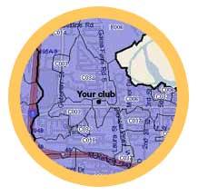 Member Plotting Map